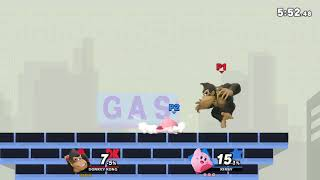 Donkey Kong vs Kirby Super Smash Bros Ultimate (online Battle)
