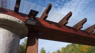 Wood Pergola Brackets 📐 Porch corner Brackets Corbels fast+easy with just one Cut