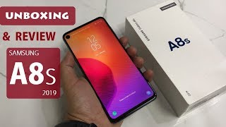 SAMSUNG GALAXY A8S 2019 UNBOXING AND REVIEW