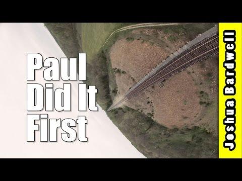 Train Bridge FPV Freestyle - PAUL DID IT FIRST I KNOW SHUT UP - 동영상