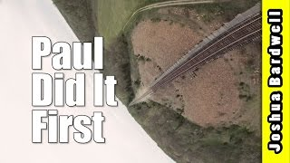Train Bridge FPV Freestyle | PAUL DID IT FIRST I KNOW SHUT UP