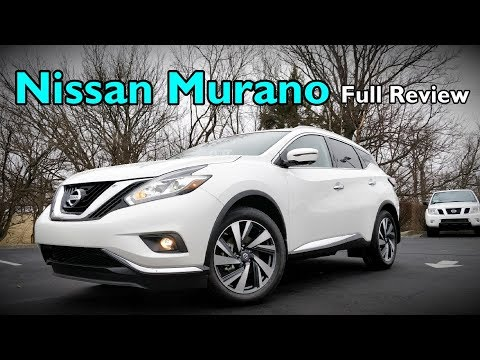 2018 Nissan Murano: FULL REVIEW | Platinum, Midnight Edition