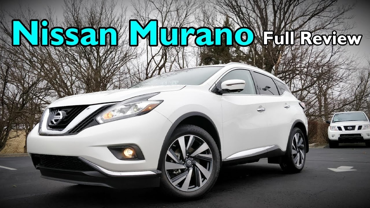 2018 Nissan Murano Full Review Platinum Midnight Edition Sl Sv