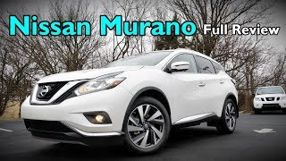 2018 Nissan Murano: FULL REVIEW | Platinum, Midnight Edition, SL, SV & S