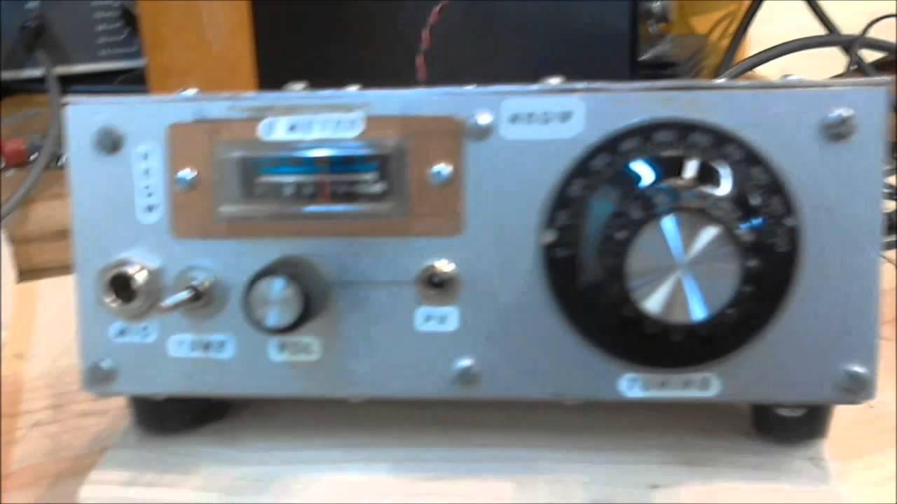 N6QW -- 20M QRP SSB Transceiver | FunnyDog TV