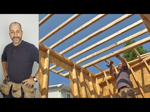 Best Shed Roofing System Ever! | How to Build a Shed | Part 4