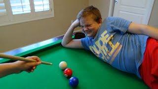Pool Trick Shots 3 | Kid Magic