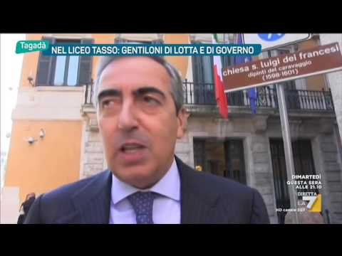 Al liceo di Paolo Gentiloni: 'Melo ricordo, era un casinaro'
