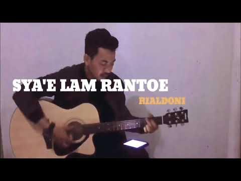 SYA'E LAM RANTOE - RIALDONI - (COVER BY FADHIL MJF)