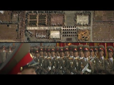 North Korea Parade Preparations Caught on Satellite | NYT