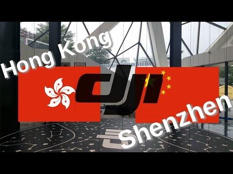 DJI flagship store visits - Hong Kong vs. Shenzhen