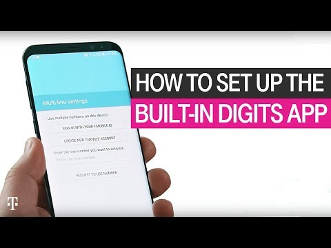 How to Set Up the Built-In DIGITS App | T-Mobile - YouTube