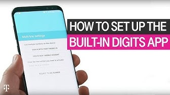 How to Set Up the Built-In DIGITS App | T-Mobile
