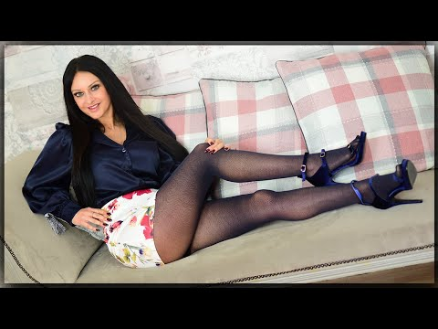 I Just Love These Navy Pantyhose - Cassie Clarke Review