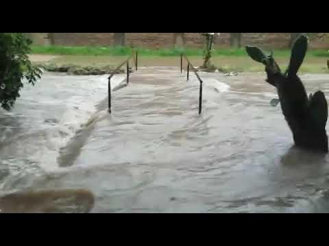 El diluvio generó graves inundaciones en Villaguay
