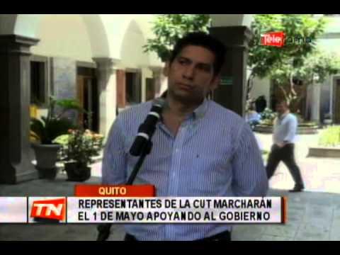 Representantes de la CUT marcharán el 1 de Mayo apoyando al gobierno