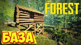 СТРОИМ КОТТЕДЖ В КООПЕ - The Forest #3