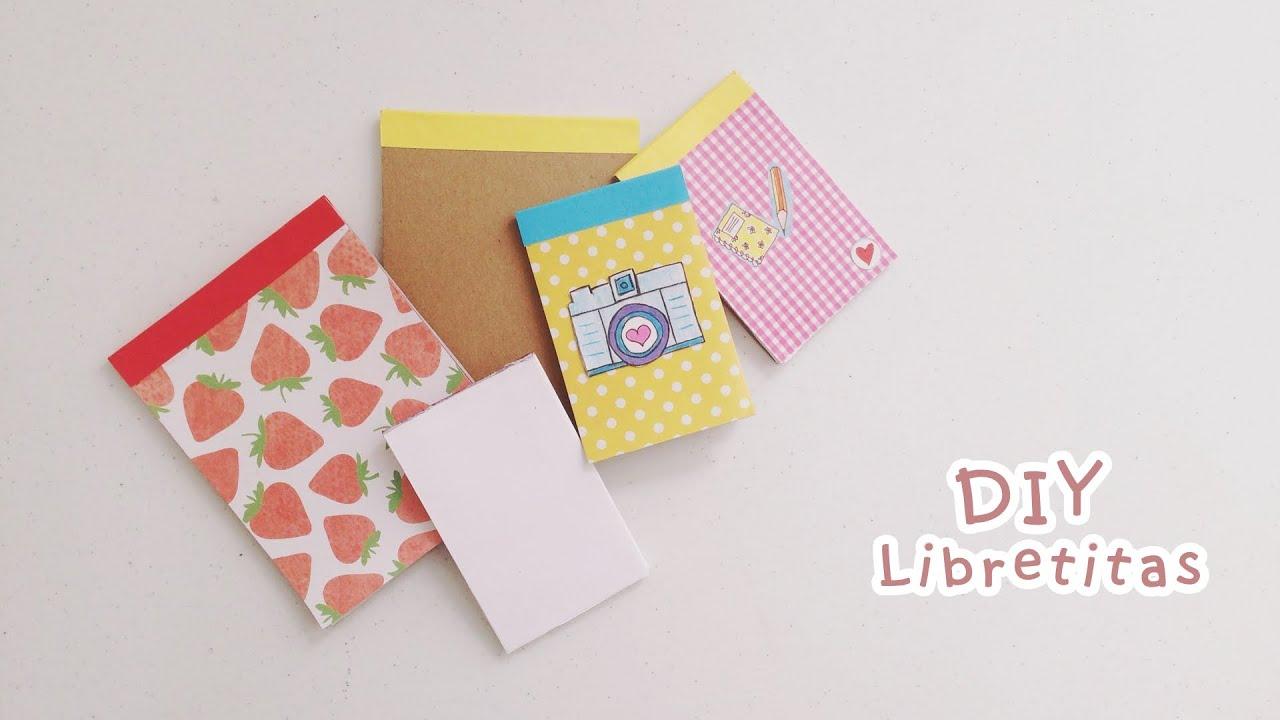 Madeheart Cuaderno De Dibujo Libreta Para Dibujar Hecho: DIY: COMO HACER TUS PROPIAS LIBRETITAS