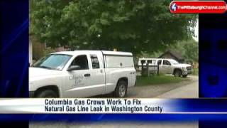 Leaky Gas Line Causes Concern In Washington County Field