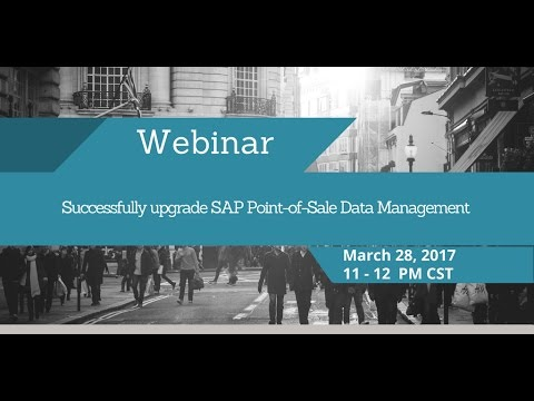 Successfully Upgrade SAP Point of Sale Data Management