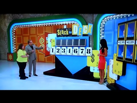 The Price is Right - Stack The Deck - 4/3/2012