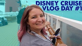Disney Cruise to Mexico! Day #1 on the Disney Wonder!