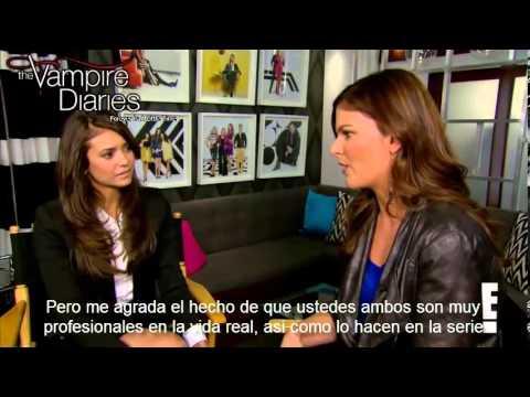 Nina Dobrev habla del momento en los People's Choice Awards con Ian Somerhalder - Sub Español