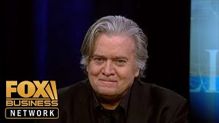 Steve Bannon sits down with Fox Business to talk Trump, jobs