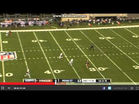 College Football :Penn State Nittany Lions vs The Syracuse Oranges