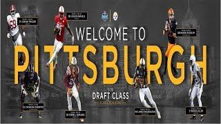 Pittsburgh Steelers 2018 NFL Draft Recap Rounds 1-7+ UDFA