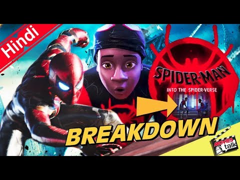 SPIDER-MAN INTO THE SPIDER-VERSE Teaser Trailer Breakdown [Explained In Hindi]