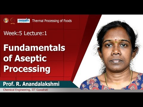 Lec 12 : Fundamentals Of Aseptic Processing