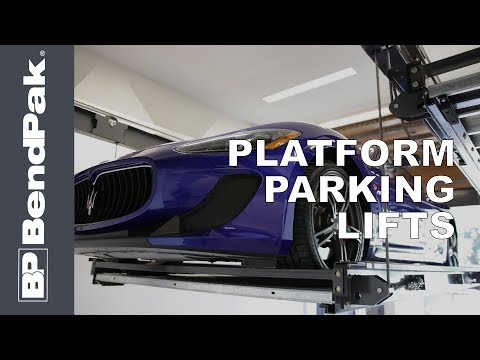 BendPak Platform Car Lifts - Three Great Models