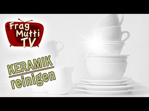 Hervorragend Schwarze Streifen auf Keramik entfernen   Frag Mutti TV YH27