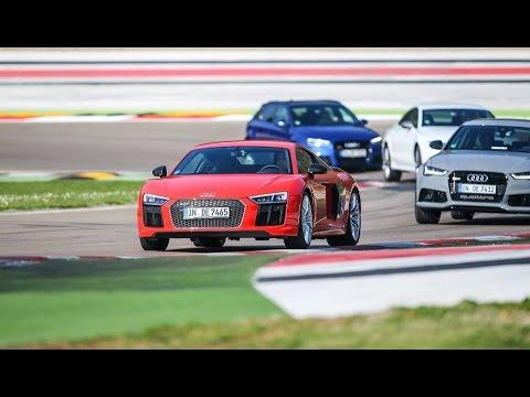 Audi Sport, in pista a Imola con RS3, RS6, RS7 e R8