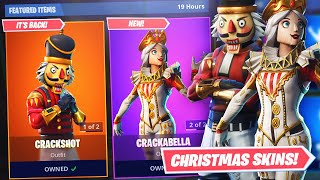 CRACKSHOT IS BACK! *NEW* CRACKABELLA SKIN + GAMEPLAY! ITEM SHOP DECEMBER 19th! -Fortnite