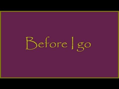 Chris Rea - Before I Go