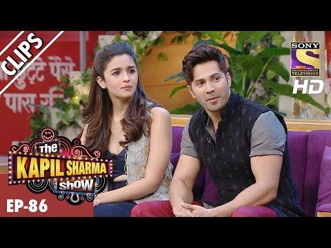 Alia & Varun are back with their romance   – The Kapil Sharma Show - 4th Mar 2017
