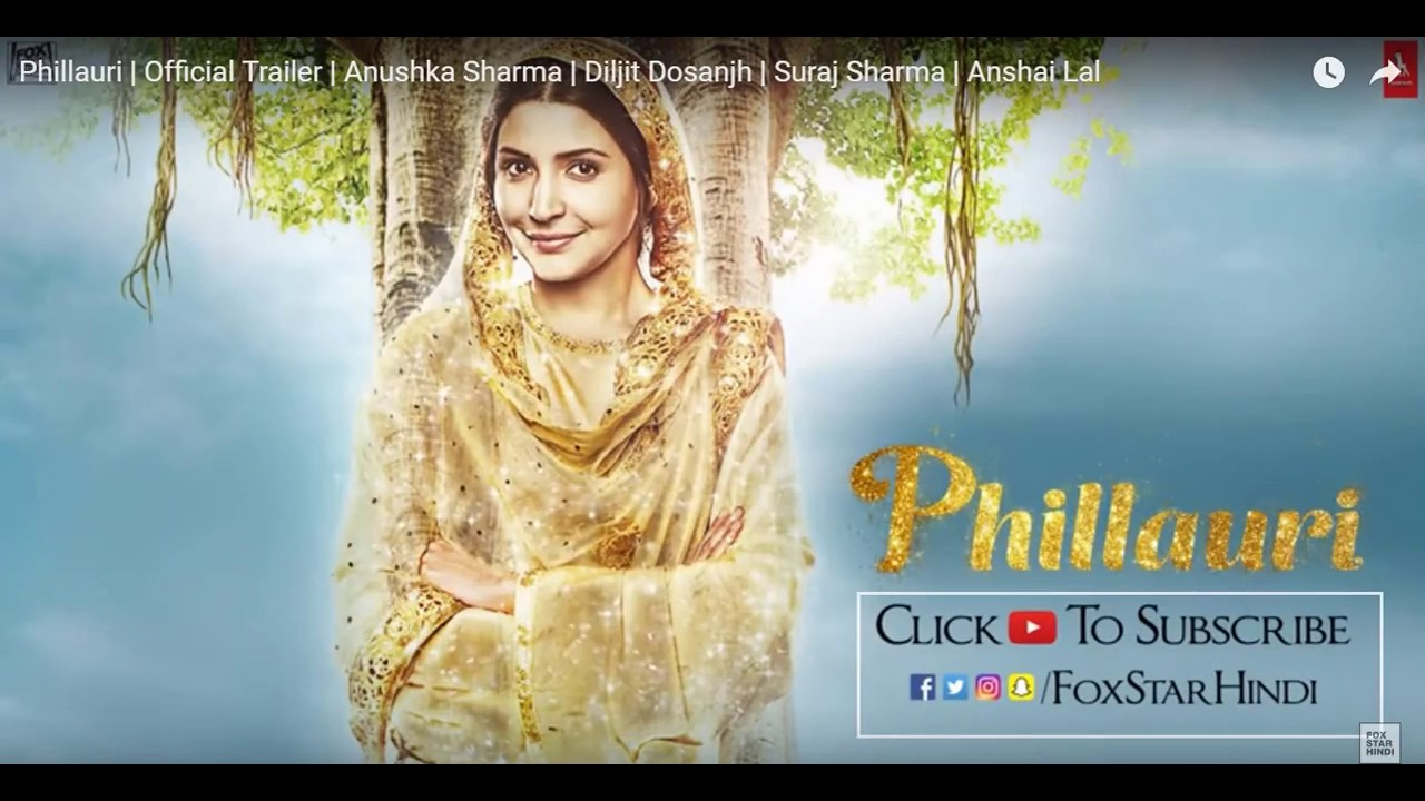 Phillauri Trailer