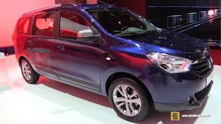 2015 Dacia Lodgy Celebration dCi 110 7-Places - Exterior, Interior Walkaround-2015 Geneva Motor Show