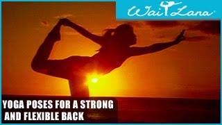 Yoga Poses for a Strong and Flexible Back: Wai Lana Yoga