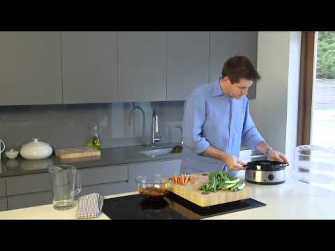 Russell Hobbs UK | Three Tier Food Steamer – How to steam salmon and vegetables