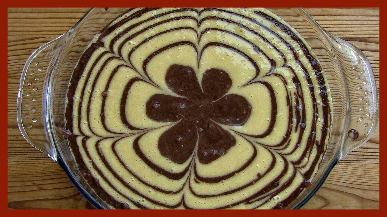 Zebra Cake Recipe Youtube