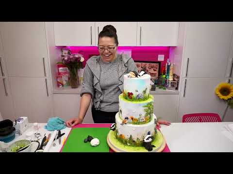 Gerry Chiu - Pressed Flowers Cake Tutorial - 03/08/20