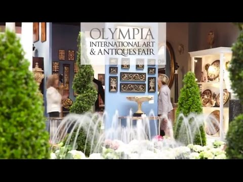 Olympia International Arts and Antiques Fair 2014