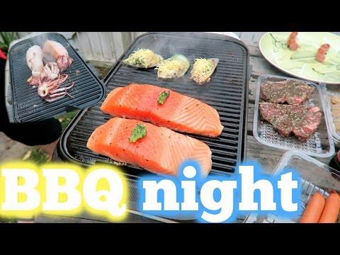 Seafood BBQ - YUM!  Apr 1 & 2, 2017
