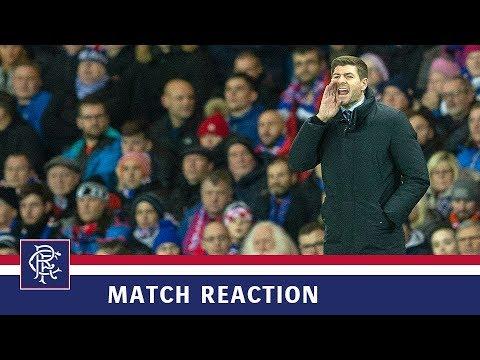 PRESS CONFERENCE   Steven Gerrard   Rangers 0-0 Villarreal