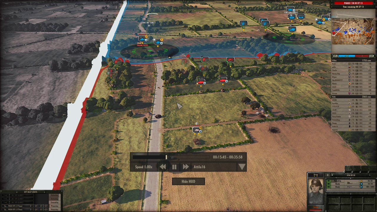 Steel Division: Normandy 44 17 Panzergrenadier Gotz Von Berlichingen  Gameplay Guide