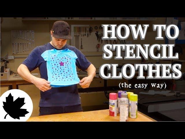 ebaa7bb3ee98 Μία διαφορετική τεχνική για DIY στάμπες σε ρούχα - SuperEverything