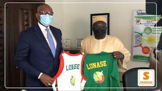Partenariat : La LONASE soutient la Fédération Sénégalaise de Basket-Ball (Senego TV)